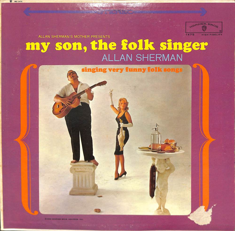 ALLAN SHERMAN - My Son The Folk Singer - 33T