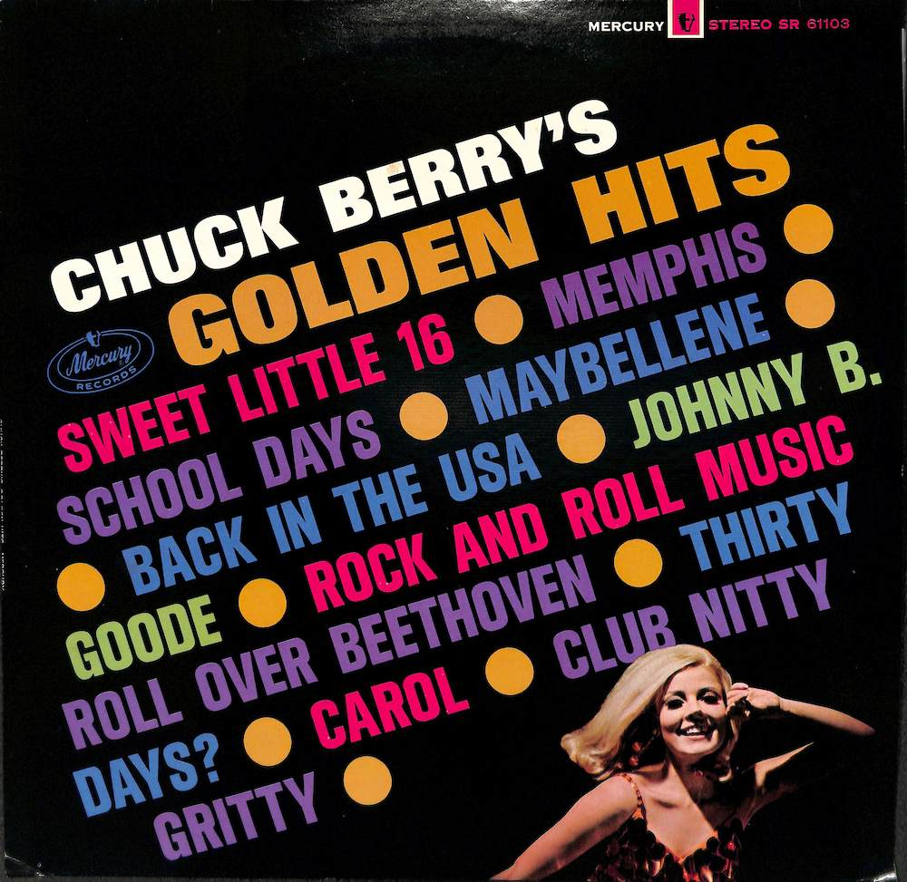 CHUCK BERRY - Chuck Berry's Golden Hits - LP