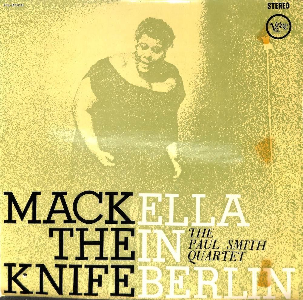 ELLA FITZGERALD - Mack The Knife: Ella In Berlin - LP