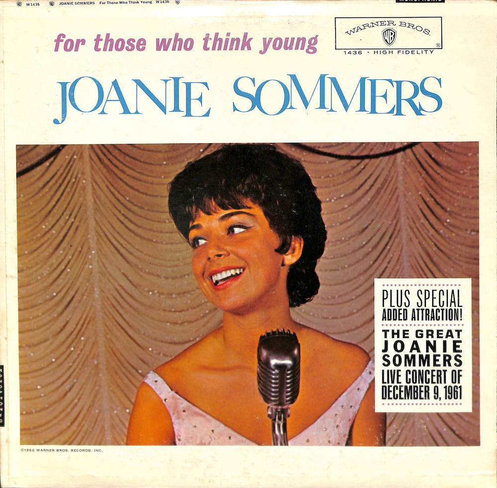 JOANIE SOMMERS - For Those Who Think Young - LP