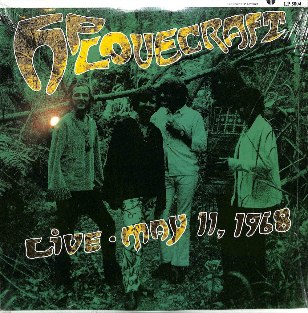 H.P. LOVECRAFT - Live May 11 1968 - LP