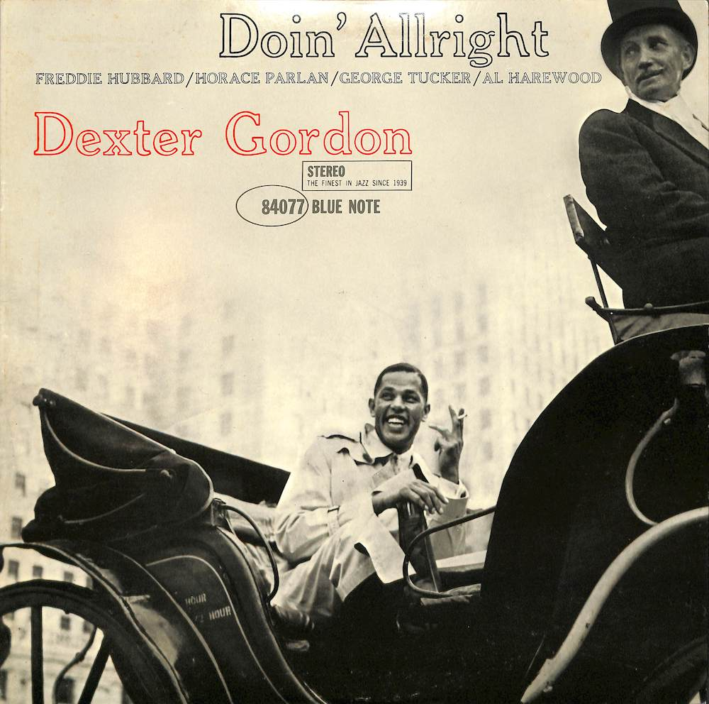 DEXTER GORDON - Doin' Allright - LP