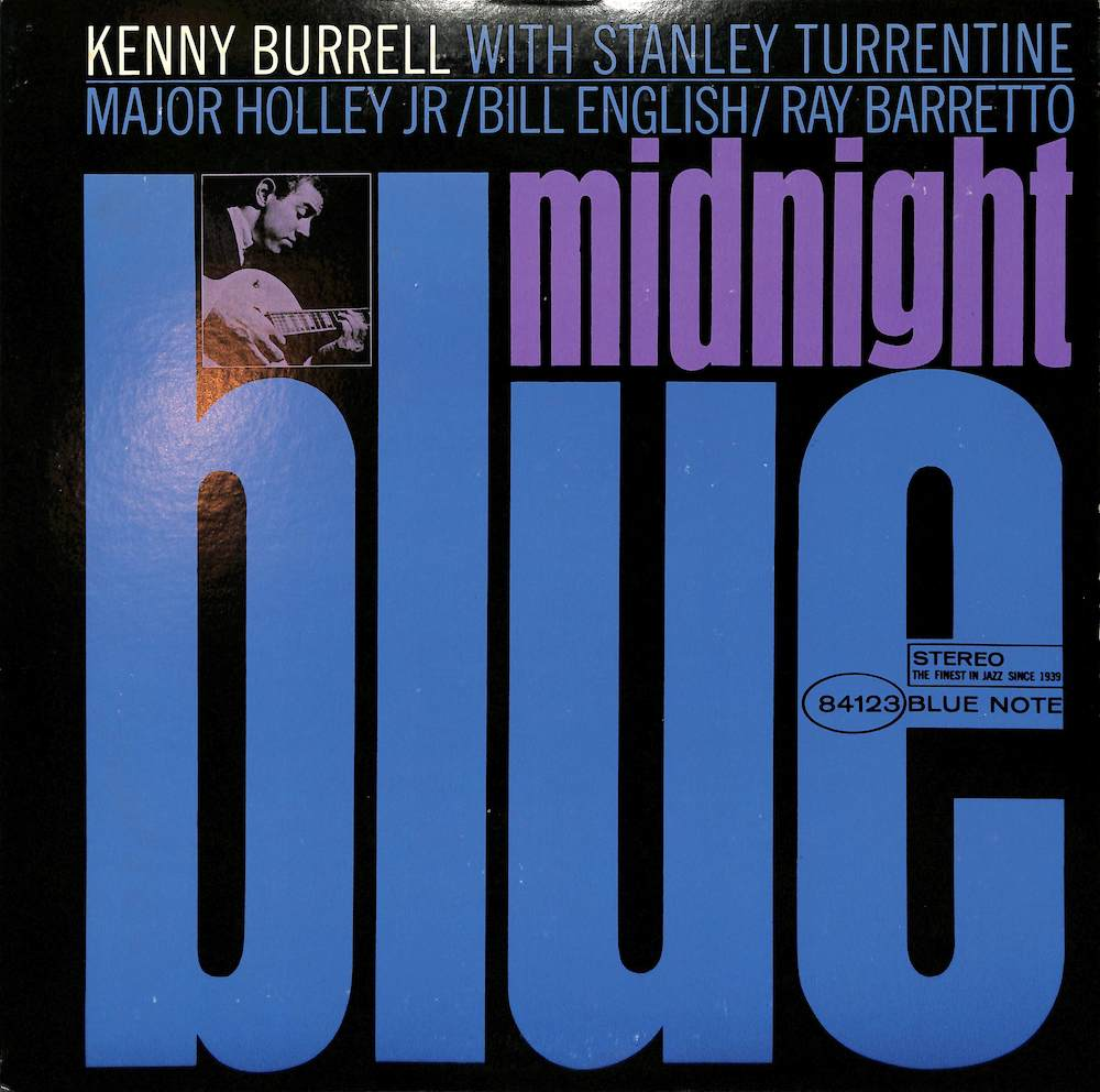 KENNY BURRELL - Midnight Blue - LP