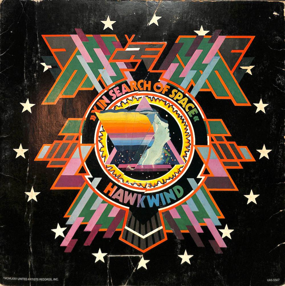 HAWKWIND - X In Search Of Space - 33T