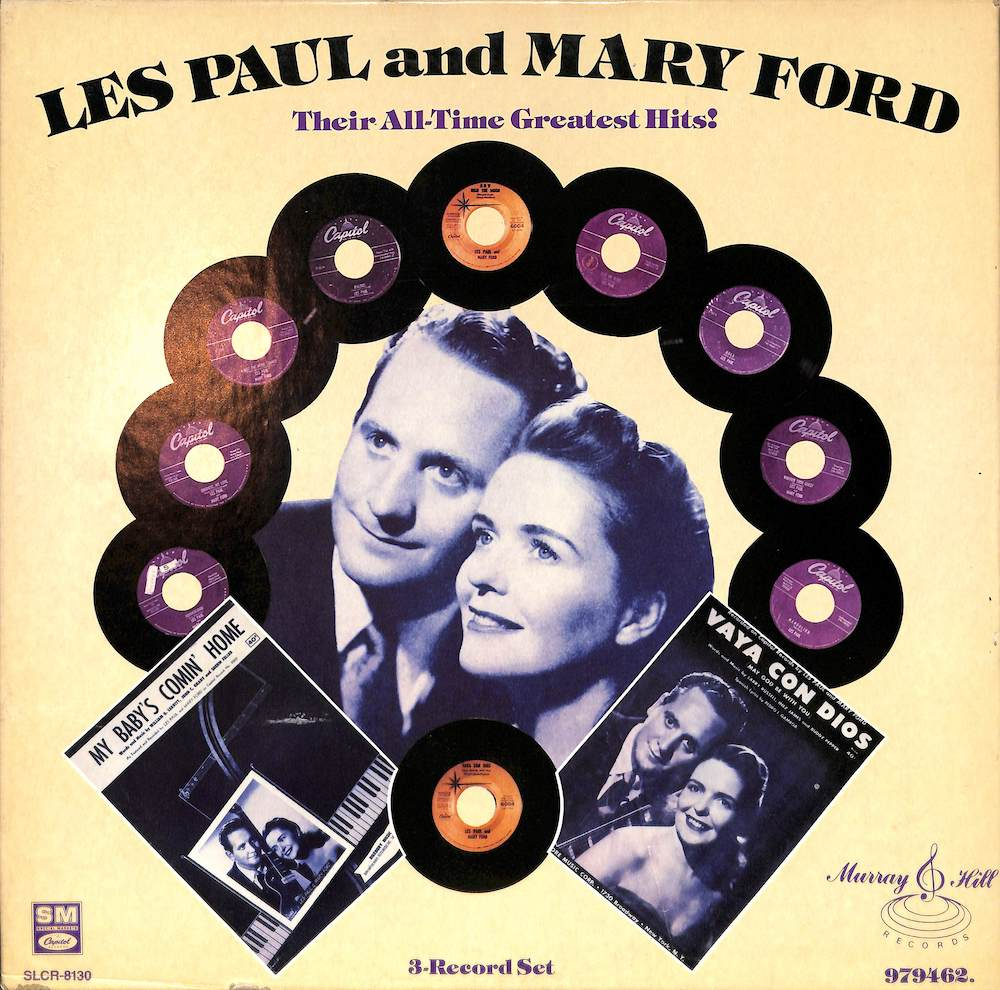 LES PAUL & MARY FORD - Their All Time Greatest Hits! - LP