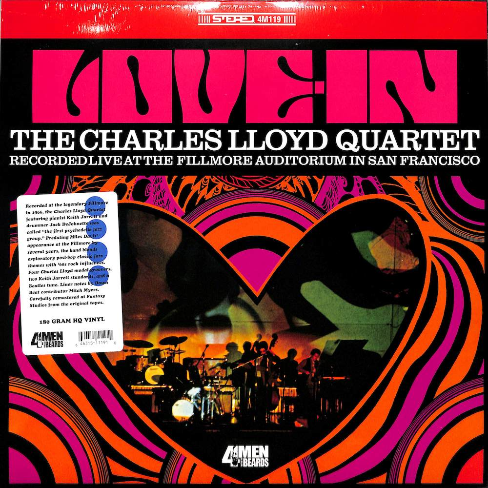 CHARLES LLOYD QUARTET - Love In - LP