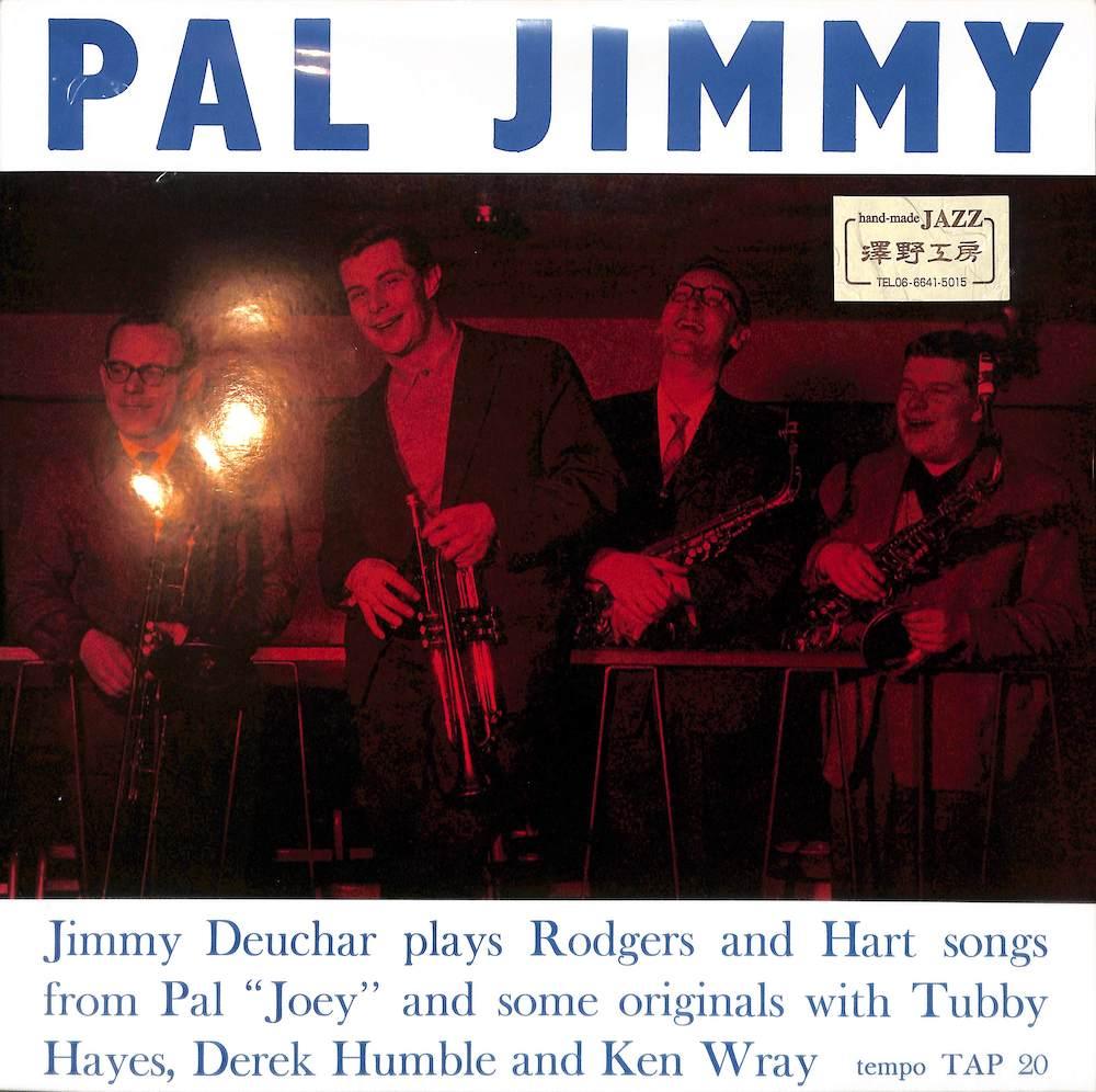 JIMMY DEUCHAR QUINTET AND SEXTET - Pal Jimmy - LP